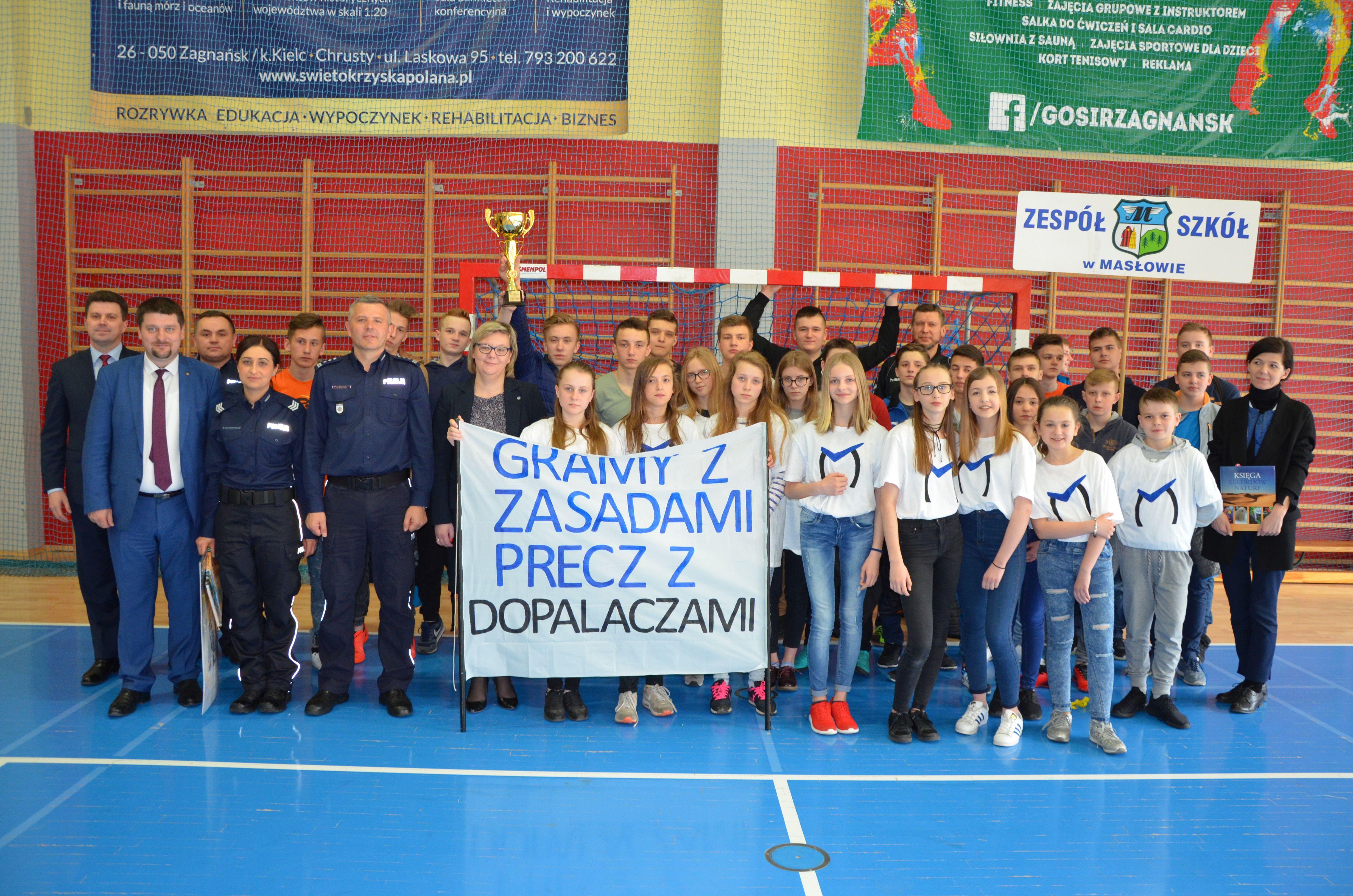 Profilaktyczny turniej z drużyną Masłowa