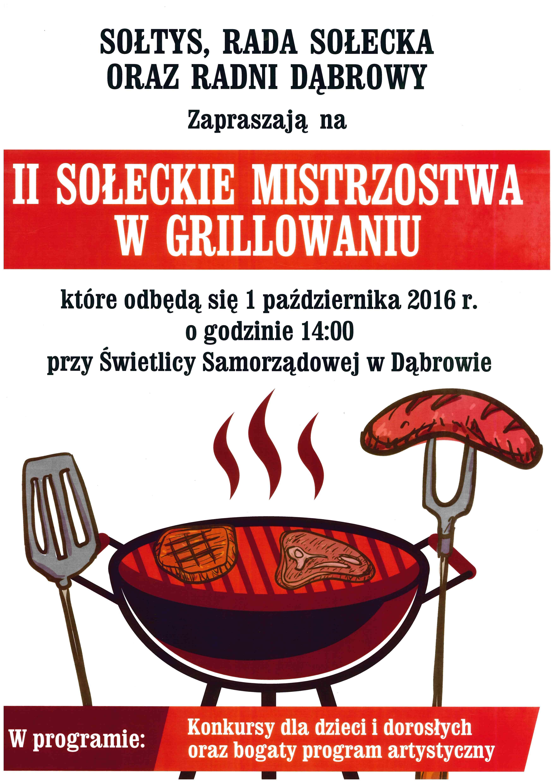 II Sołeckie Mistrzostwa w Grillowaniu